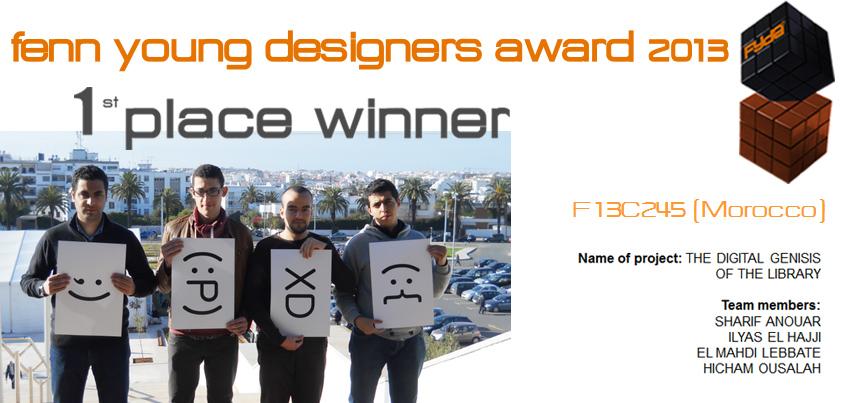 FYDA2013 | 1st Place Winners